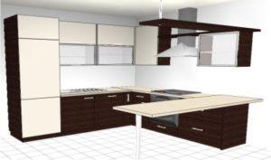 Kuhinja u tri koraka 3D - Blažević interijeri